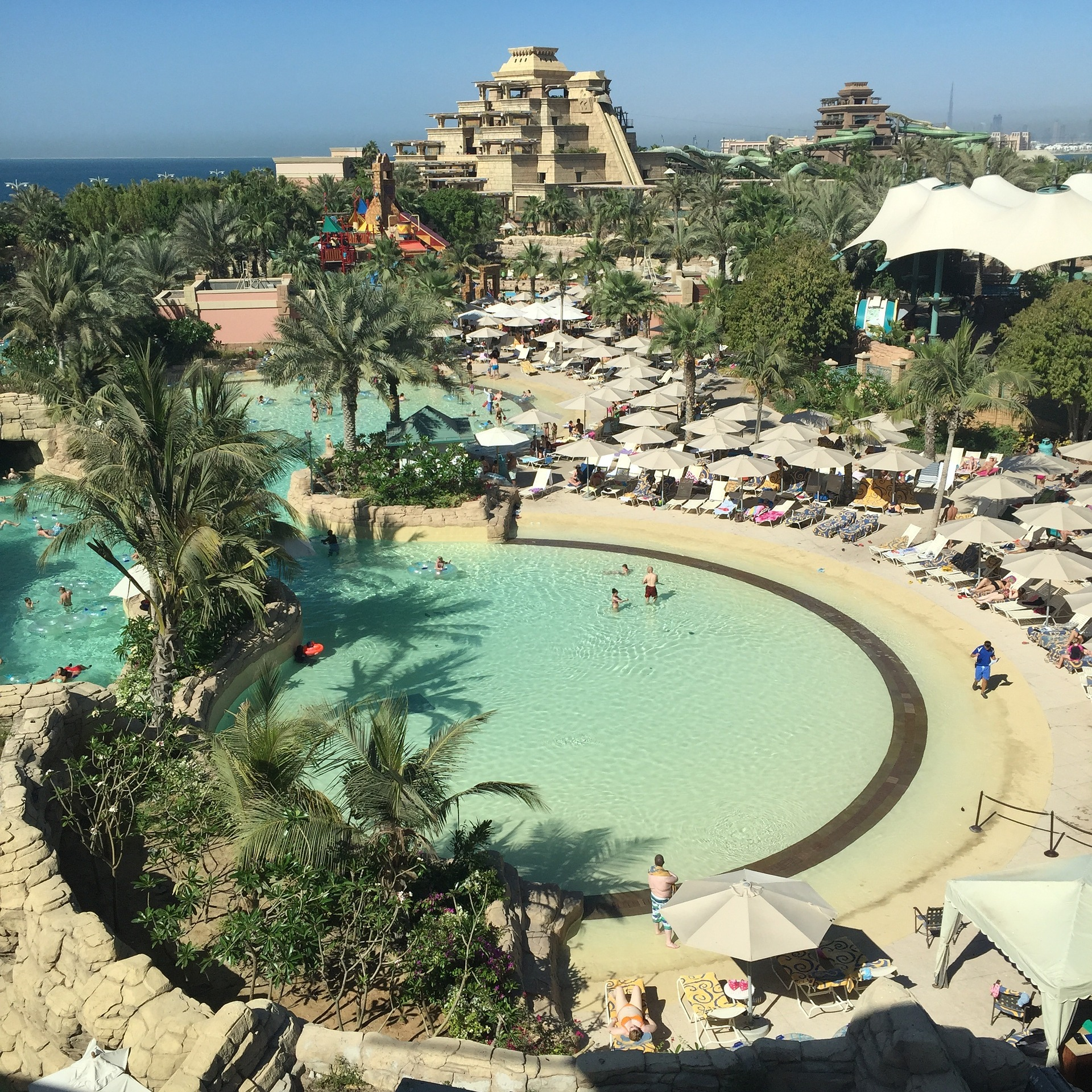 Aquaventure Waterpark At Atlantis