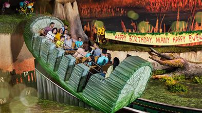 Swamp Celebration Swamp Slider Motiongate Dubai