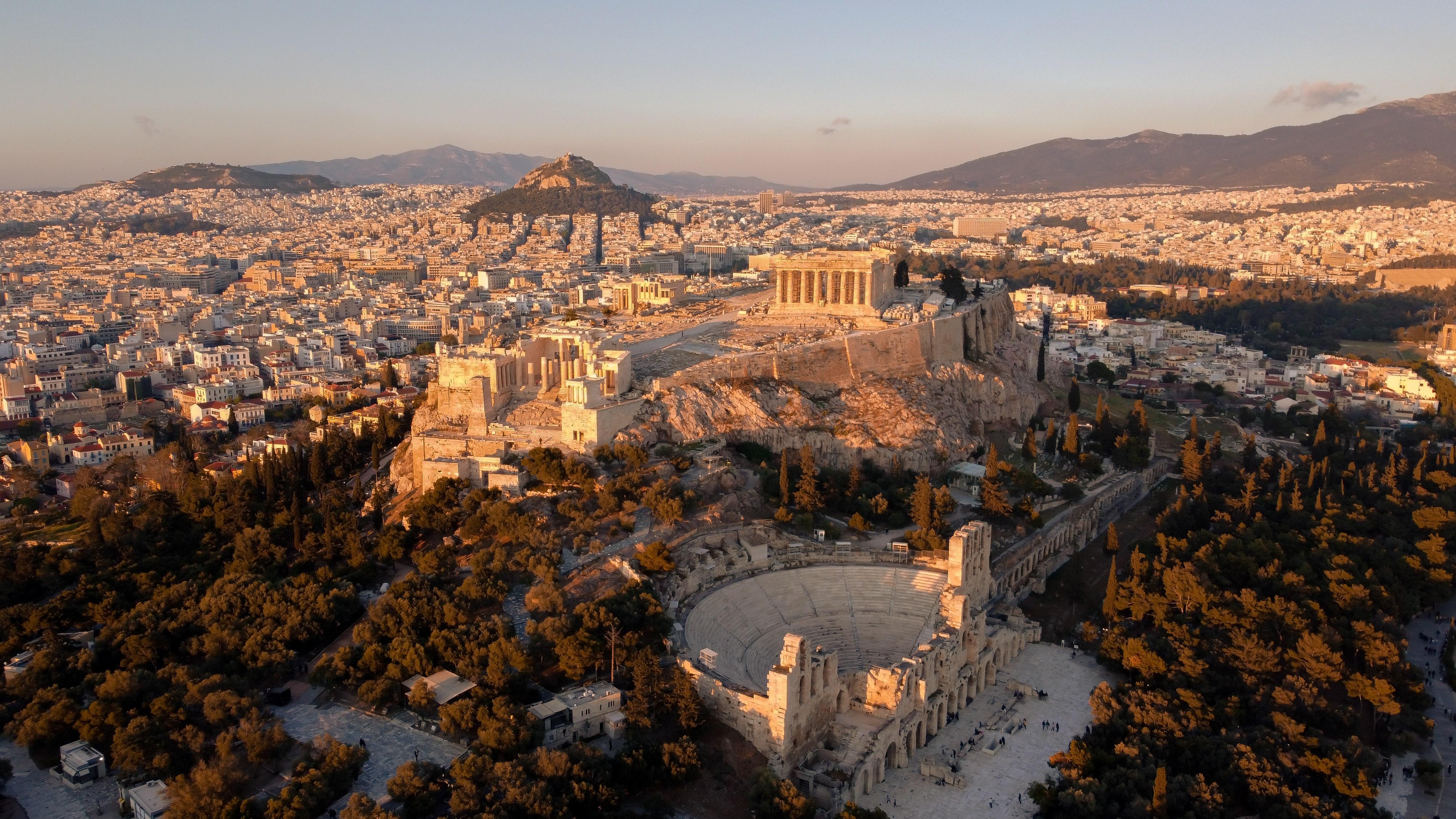 Acropolis Entrances