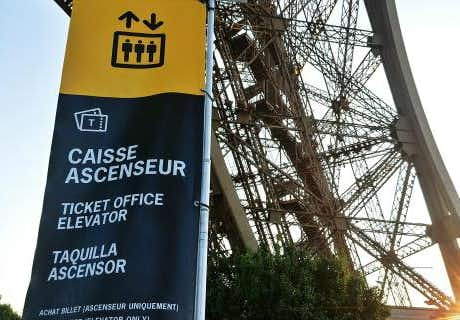 Eiffel Tower Ticket Office