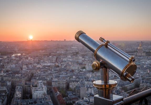 Eiffel tower second level