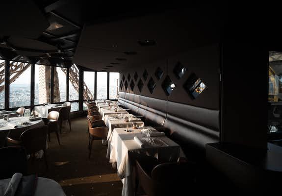 Eiffel Tower Le Jules Verne Restaurant