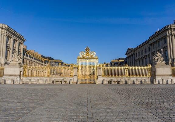 Palace of Versailles Main Entrance