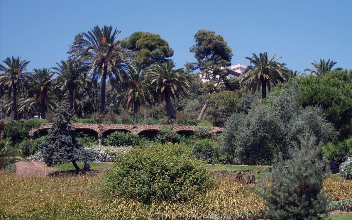 Austria Gardens Park Guell