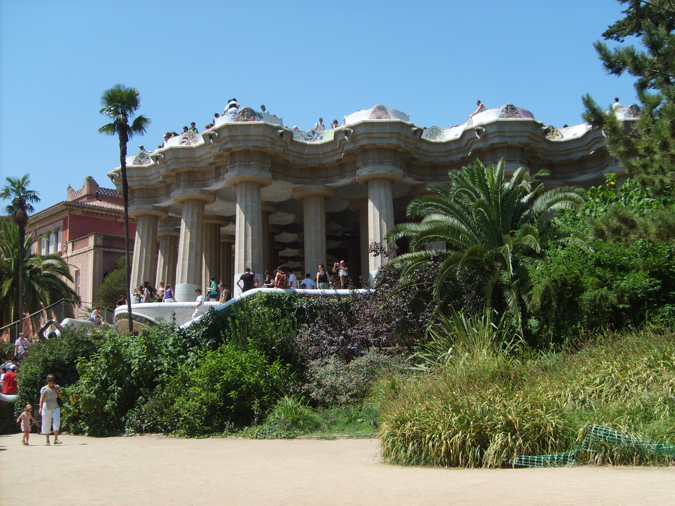 Park Guell Hypostyle Room