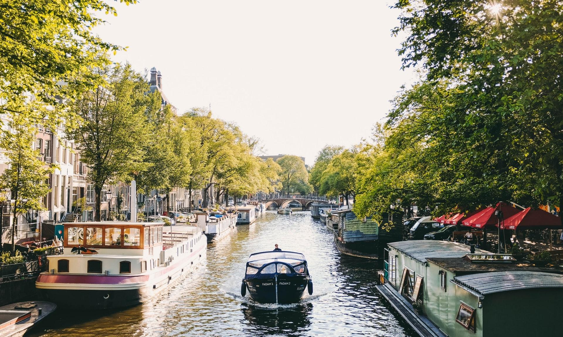 Amsterdam in January