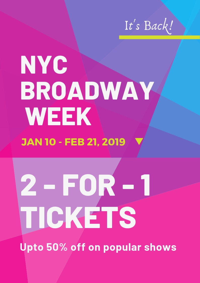 broadway week ticket discounts