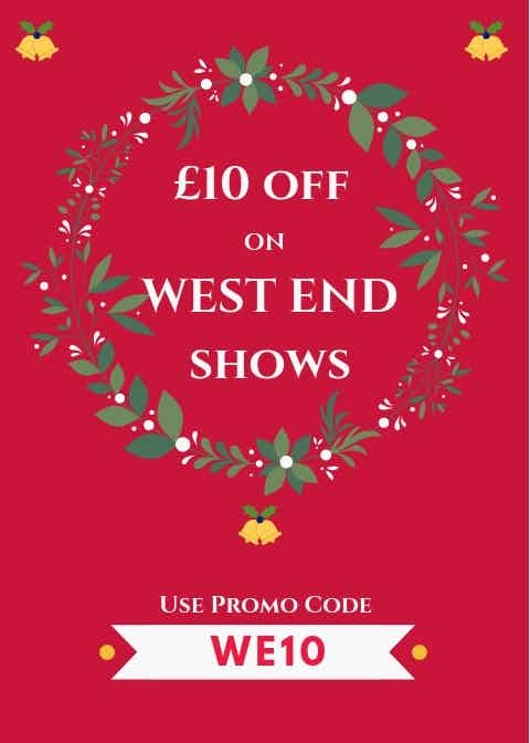 West End show ticket discounts