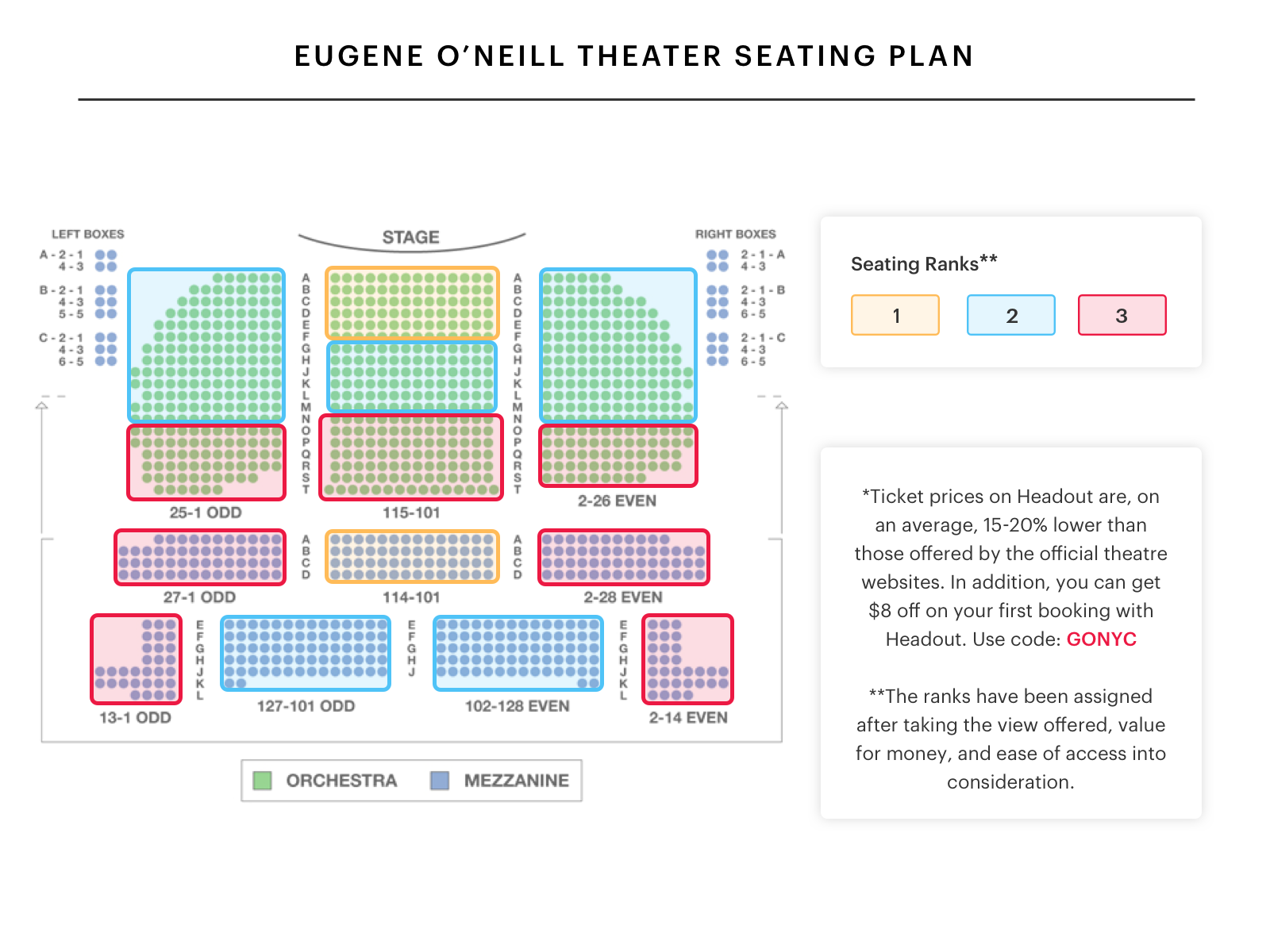 Gershwin Theatre Tickets likewise Radio City Interactive Seating Chart additionally A Prairie Home  panion With Chris Thile On Tour likewise Town Hall Nyc Seating Map in addition New York City. on ny radio city seating chart