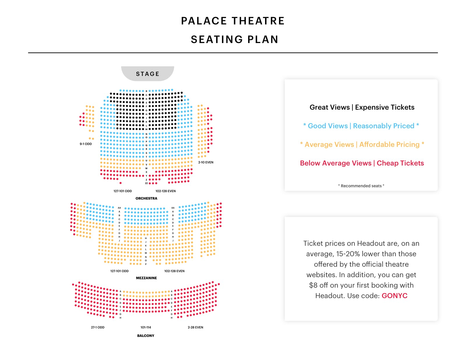 Palace-Theatre-Seating-Chart-spongebob-squarepants tickets-broadway