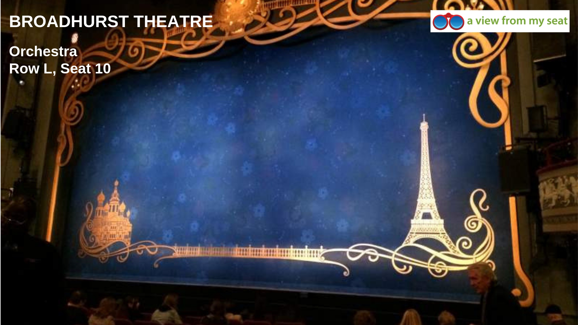 Broadhurst Theater Orchestra View