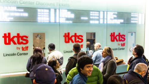 NYC TKTS BOOTHS