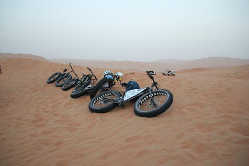 Adventure Activities in Dubai - Fat Tyre Biking- 2