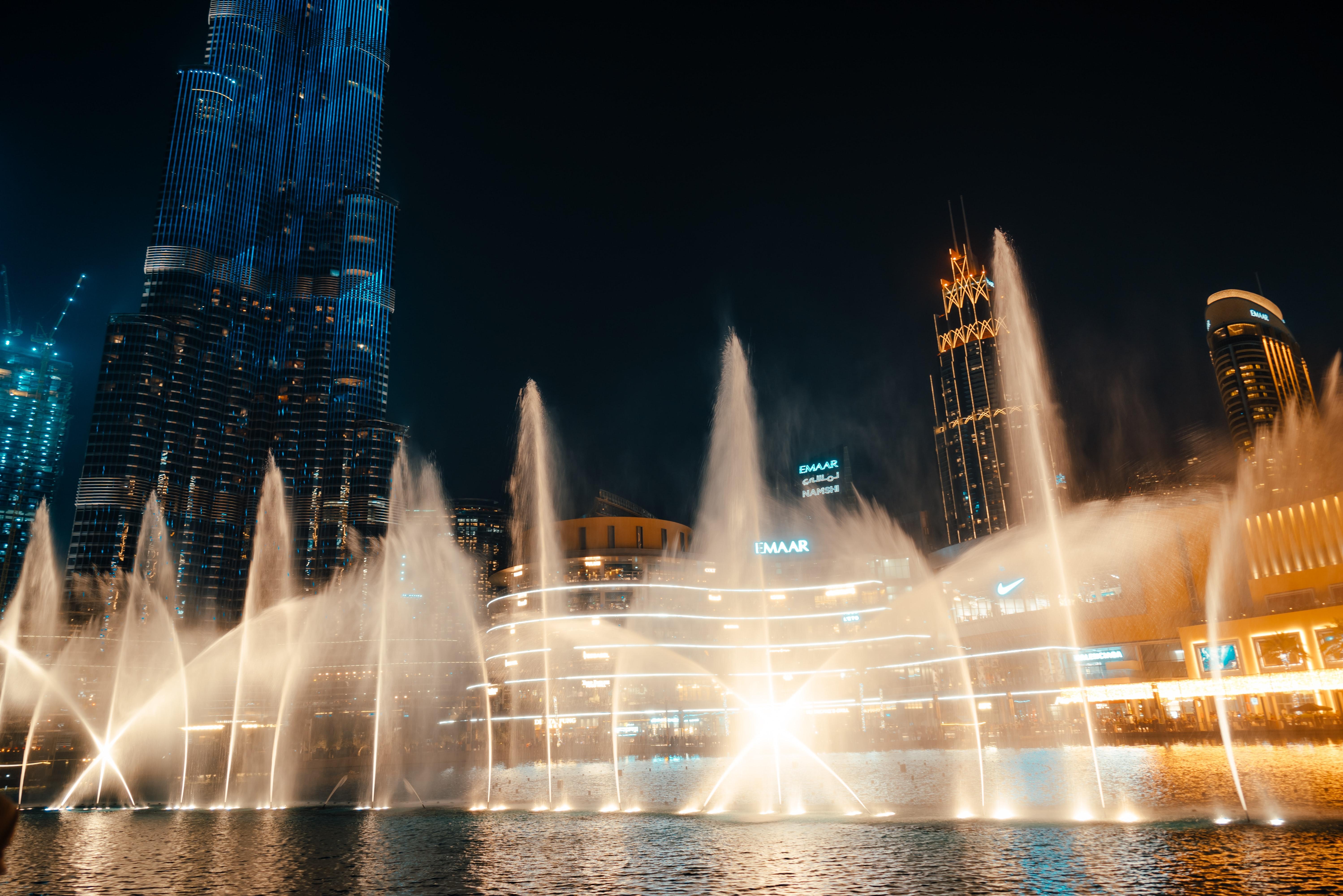Best Places to Visit in Dubai - Dubai Fountain - 2