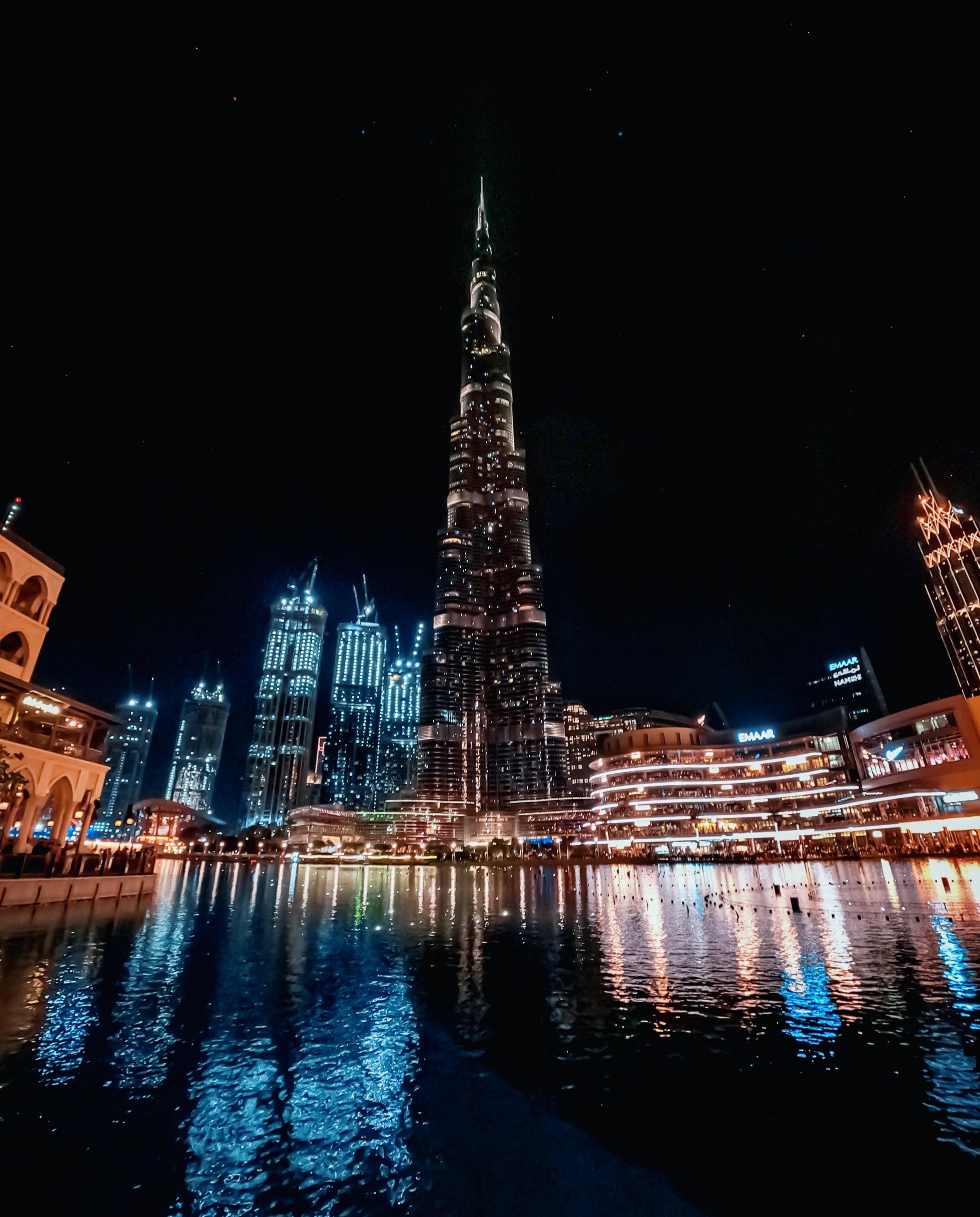 Best Places to Visit in Dubai - Burj khalifa - 1