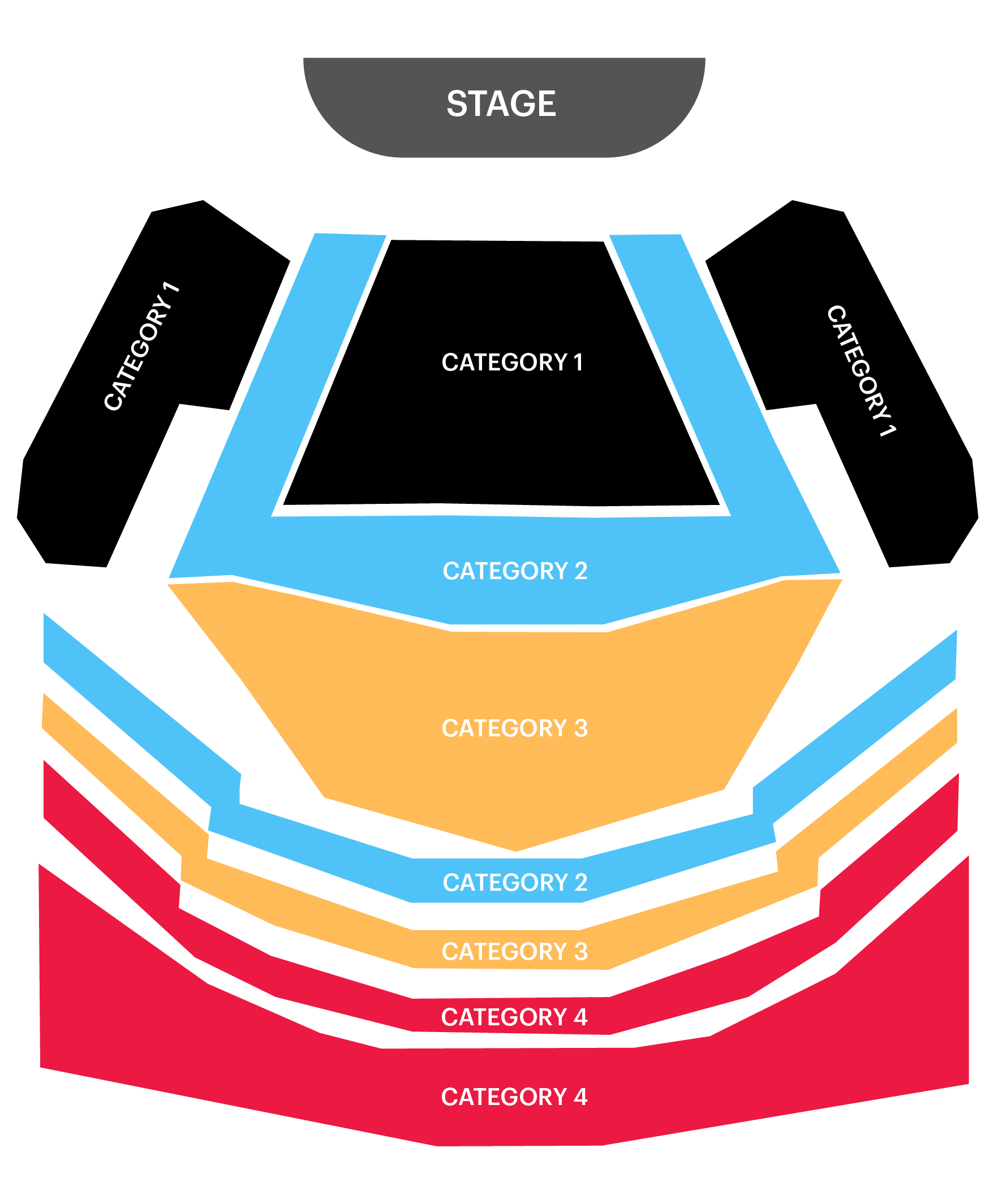 Dubai Opera Seating Plan