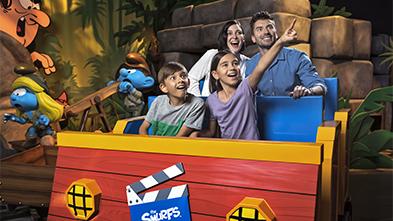 Smurfs Village Express Motiongate Dubai