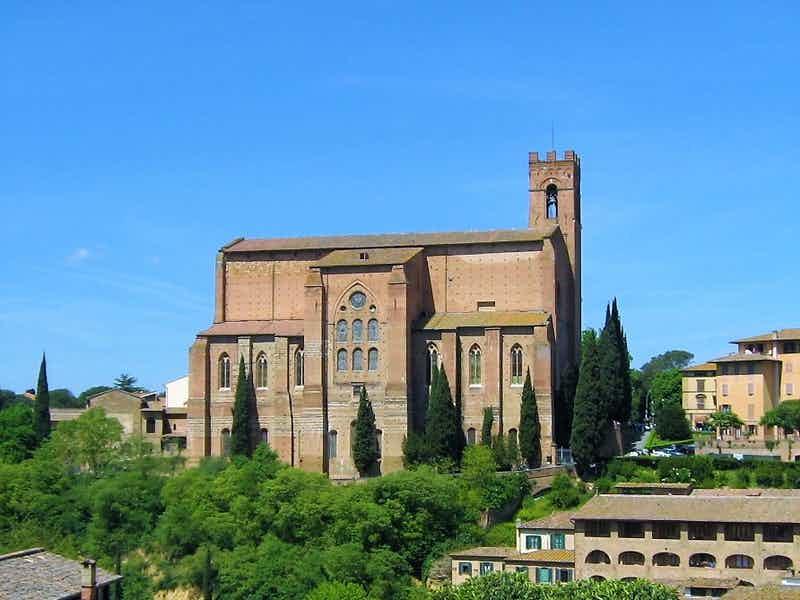 Florence to Siena - Basilica of San Domenico