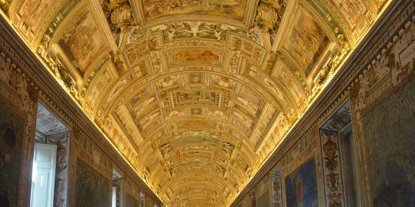 gallery of maps Vatican