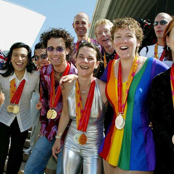 Paris in August - The Gay Games