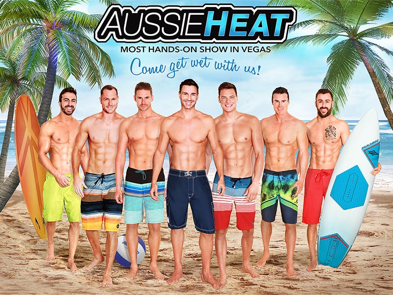 Best Vegas Adult Shows - aussie heat