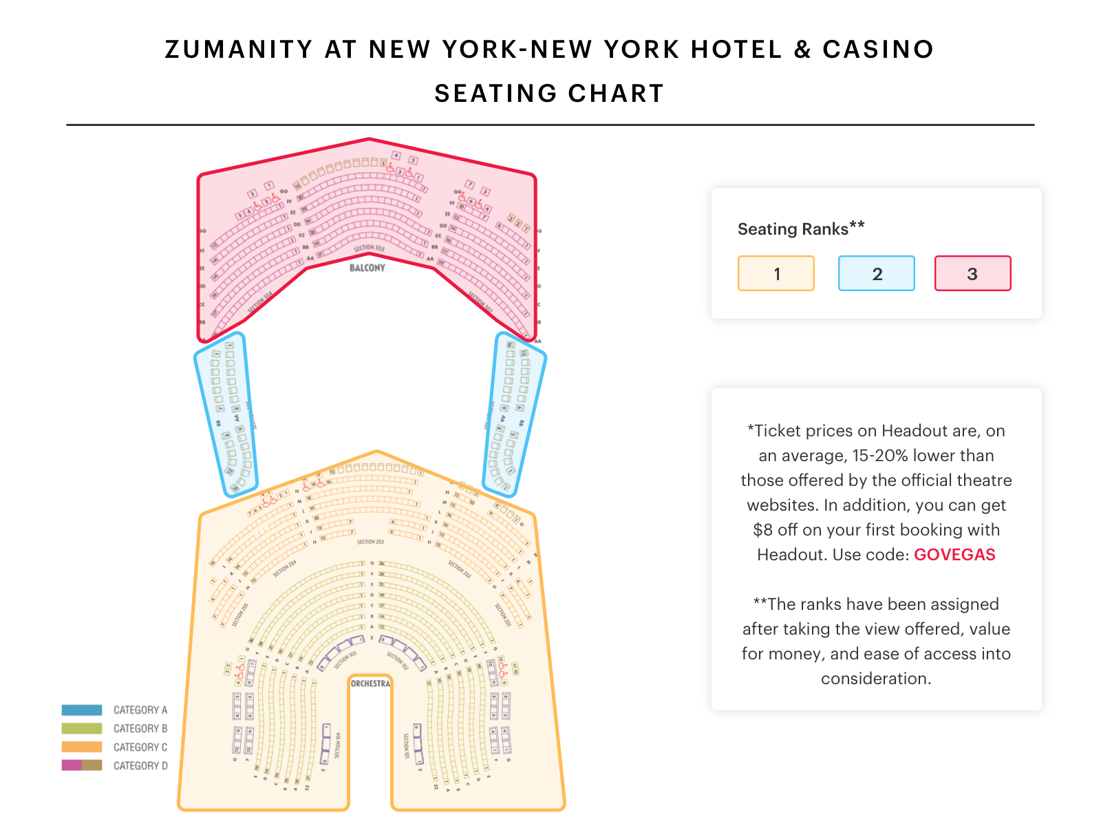 Zumanity Las Vegas Seating Map Brokeasshome Com