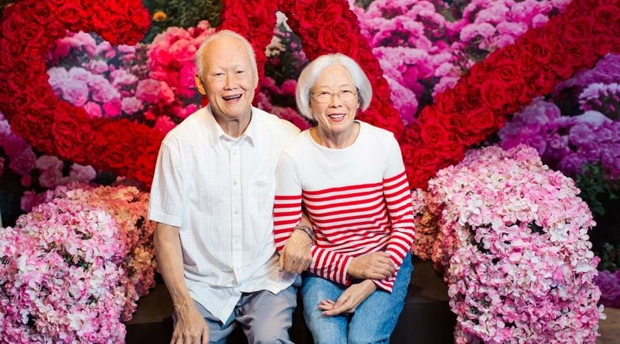 Lee Kuan Yew and Kwa Geok Choo Madame Tussauds Singapore