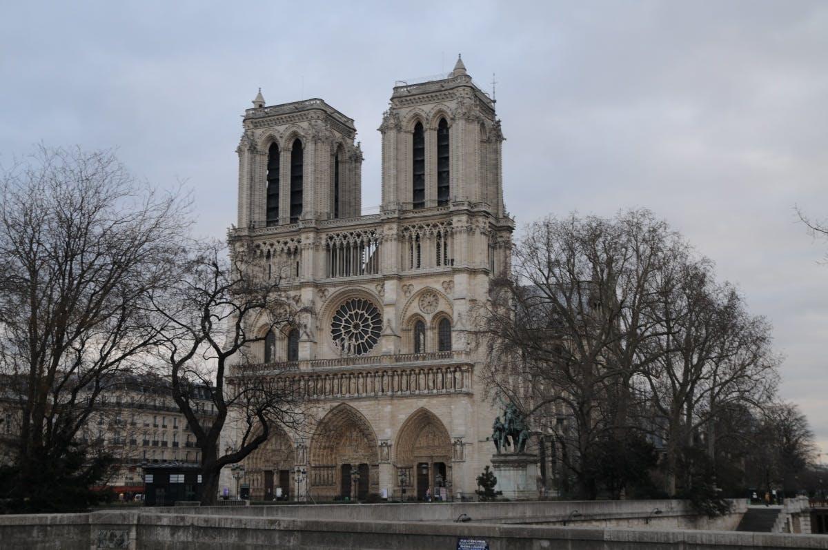 paris in march - notre dame