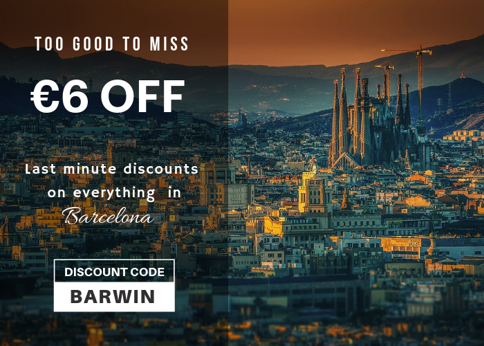 Barcelona Holiday Season discounts