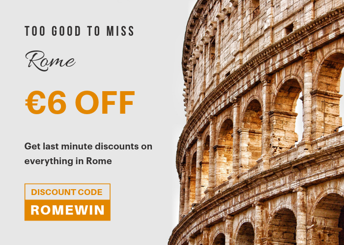 Rome Holiday Season discounts
