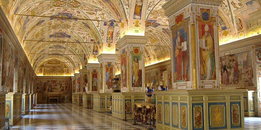 rome in december - Vatican Museum