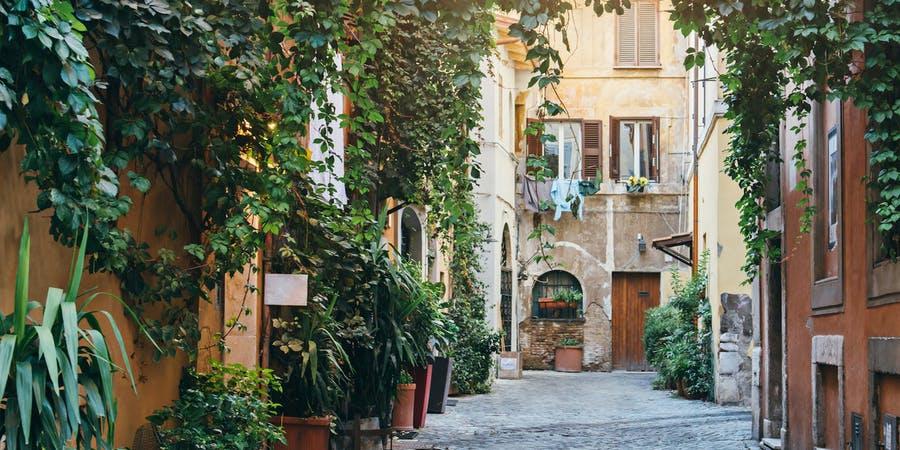 rome in december-trastavere