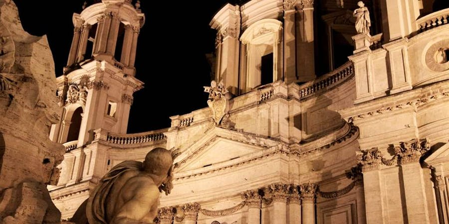 rome in december-ghosts Tour
