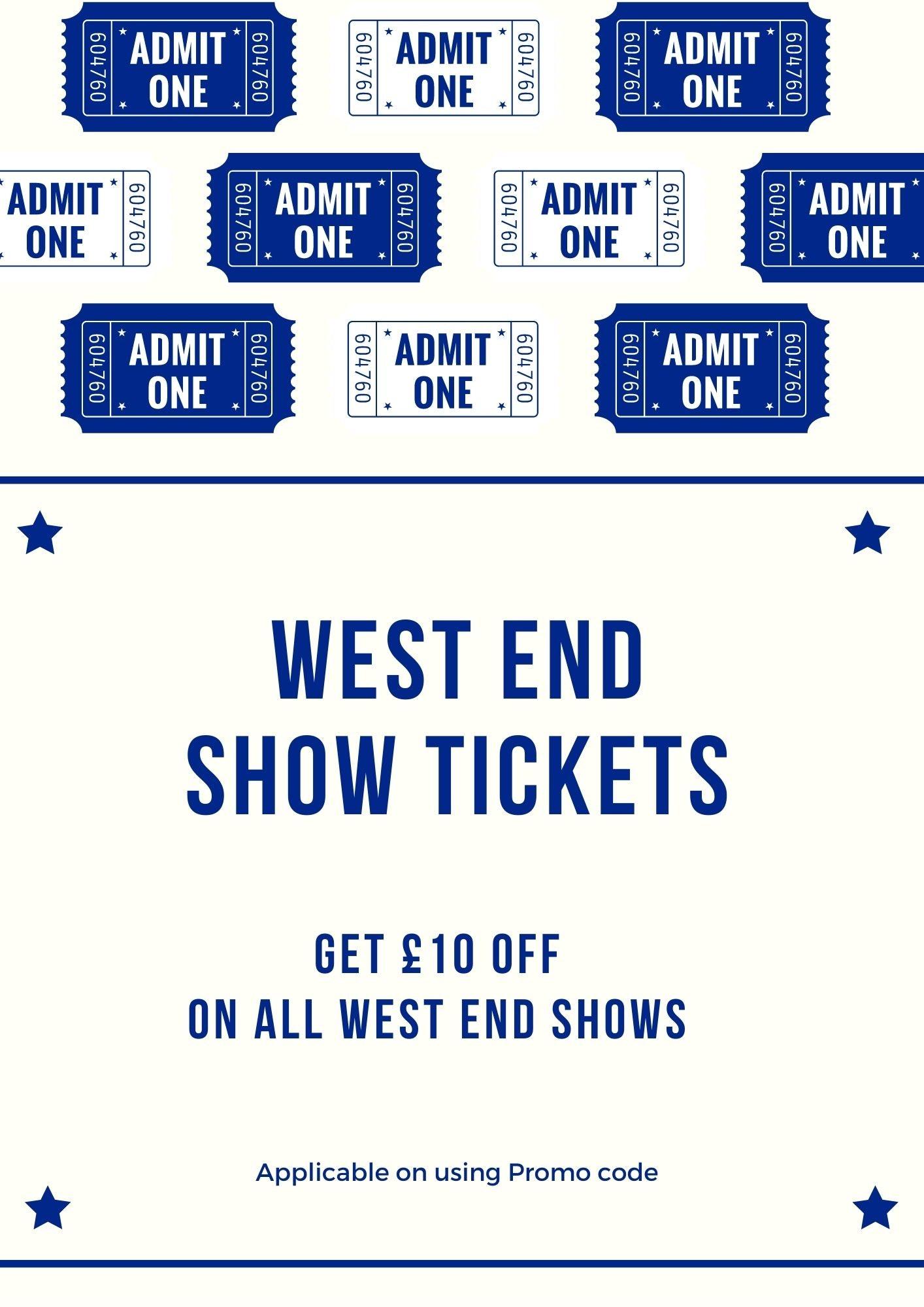 West End show ticket discounts