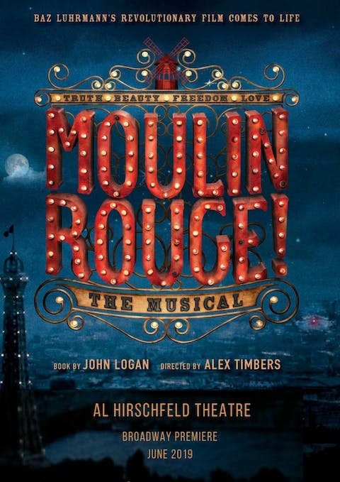 Moulin Rouge Broadway Tickets