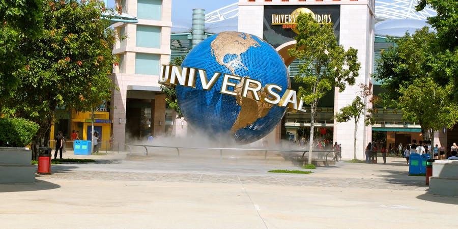 Singapore in October - Universal Studios