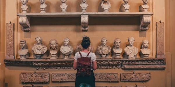 vatican museums - hall of statues