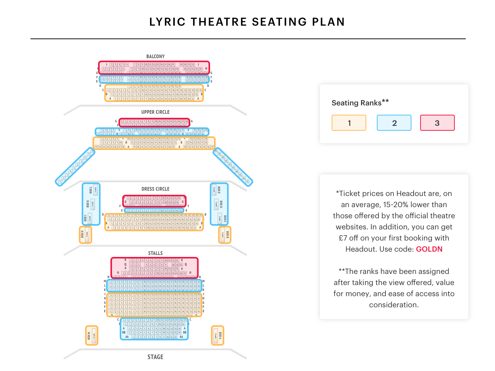 Lyric theatre seating plan watch thriller live at west end