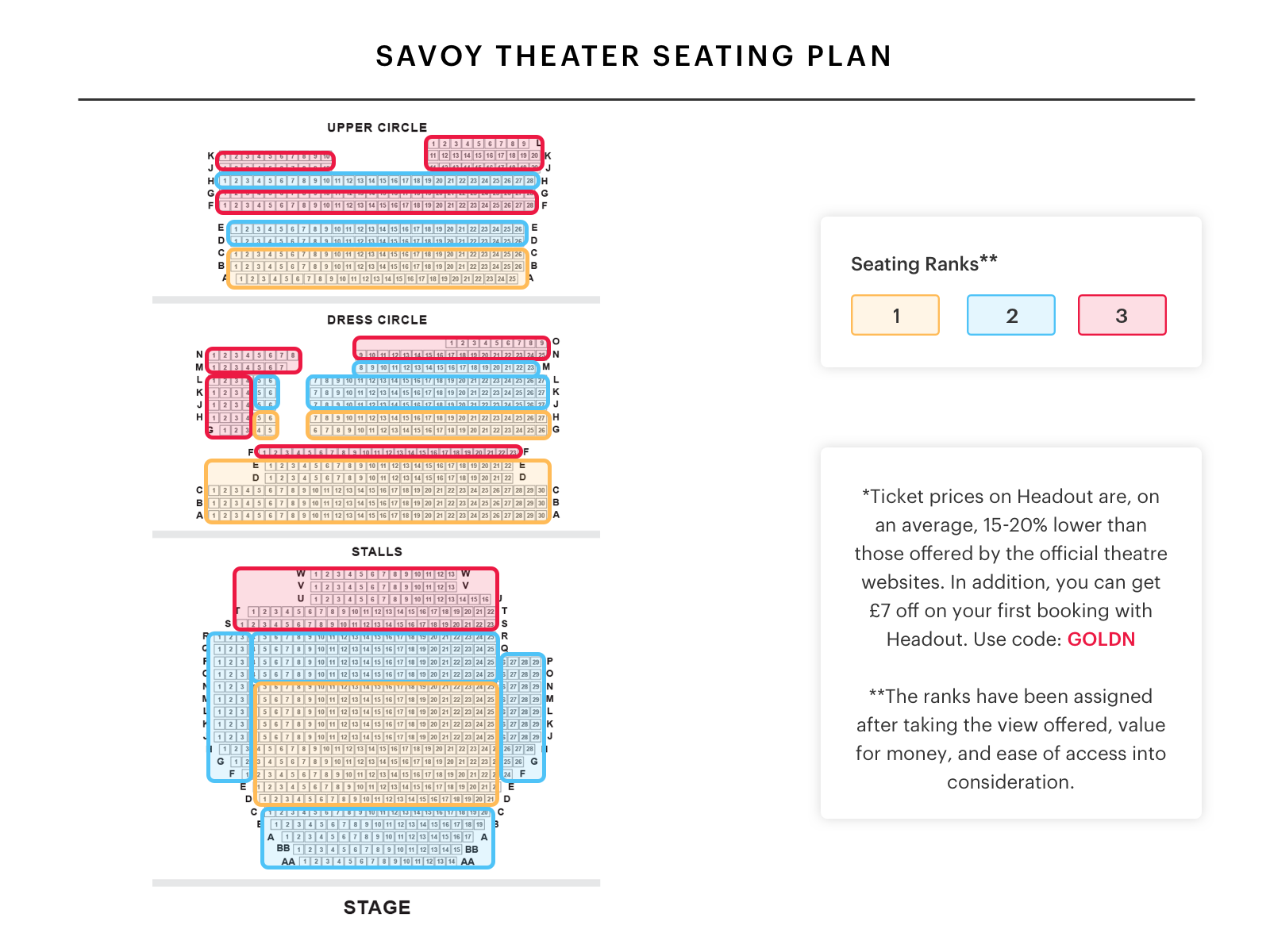 savoy theatre seating plan find the best seats for dreamgirls 9