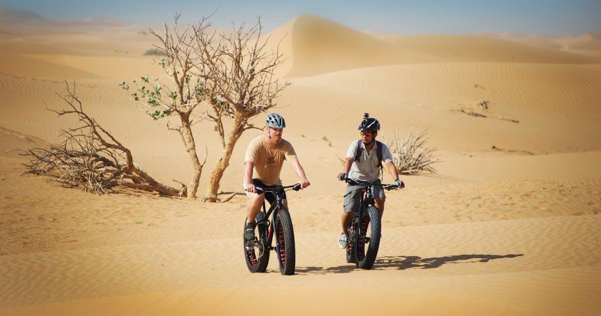Adventure Activities in Dubai - Fat Tyre Biking- 1