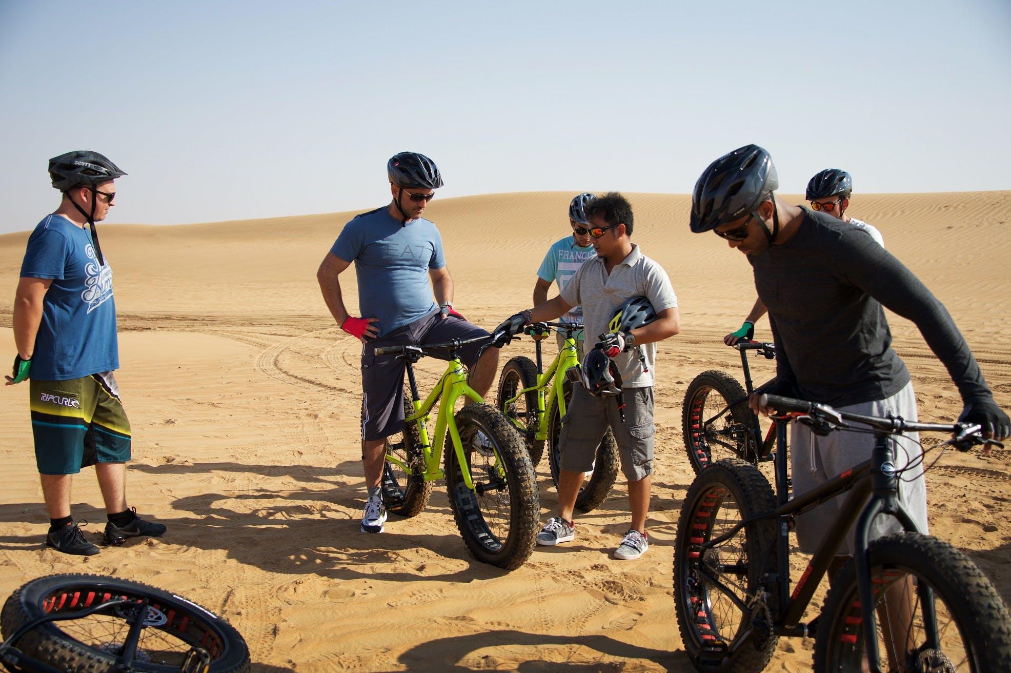 Adventure Activities in Dubai - Fat Tyre Biking- 2