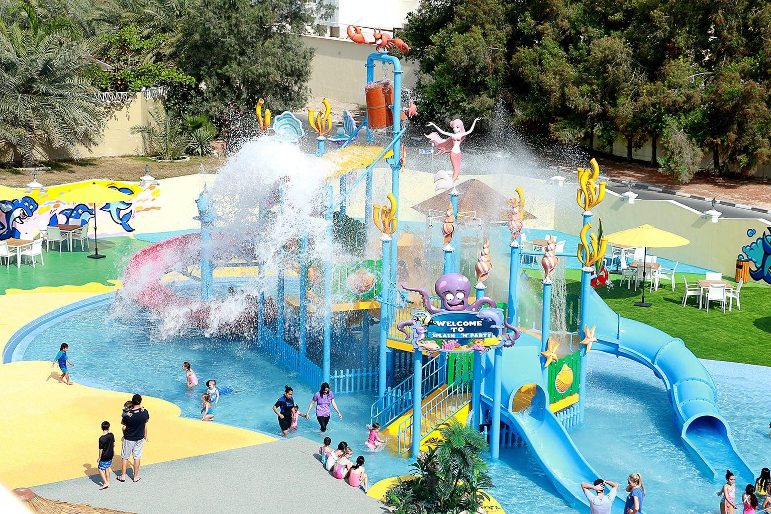 Best Theme Parks in Dubai - Splash n Fun - 1