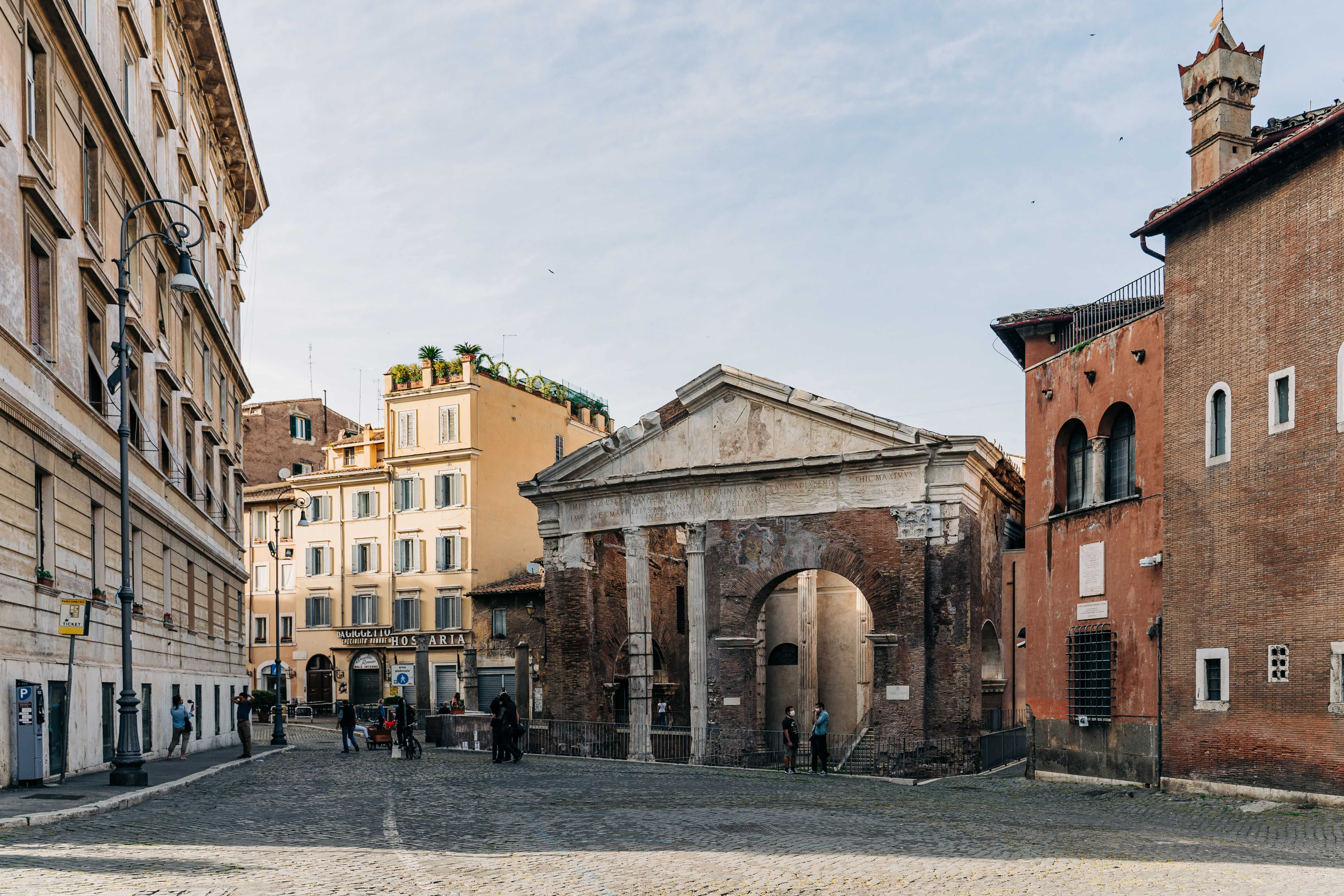 Free things to do in Rome- Jewish Ghetto