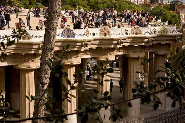park guell greek theatre