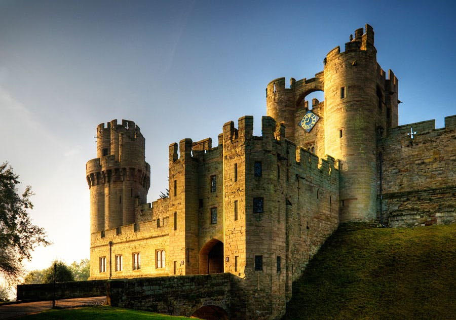 best day trips from london - warwick
