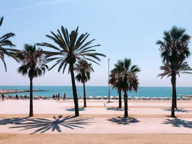 Barcelona in 5 days- barceloneta beach