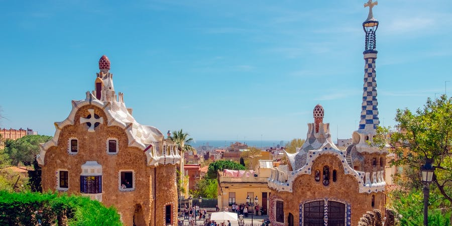 Barcelona in march