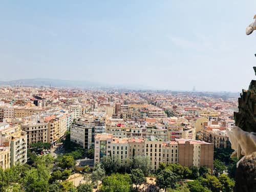 Barcelona in January 1