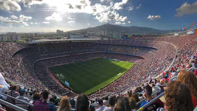 Barcelona in 3 days- Camp nou