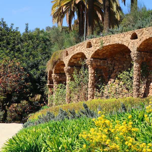 Park Guell Monumental Zone - The Greek Theatre